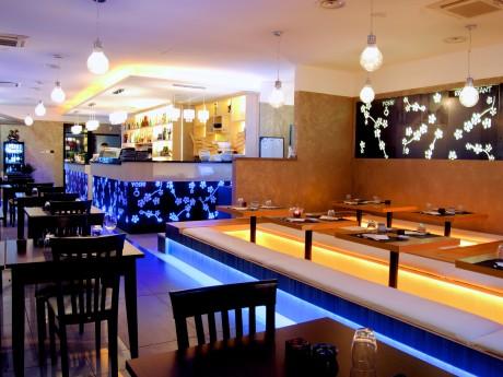 Sala, bar e zona tatami
