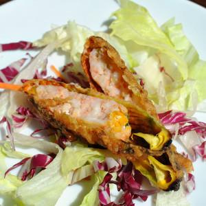 tempura fiori di zucca