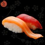 nigiri tonno-salmone