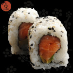roll salmone avocado