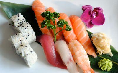 piatto nigiri e maki